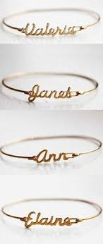 custom name bracelet custom name bracelets for bridesmaids gifts how this idea is