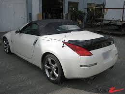 nissan 350z z33 review 03 09 350z z33 ing style trunk spoiler wing usa canada fits