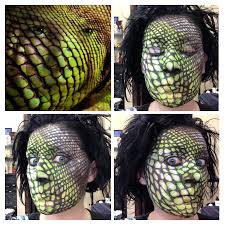airbrush makeup for halloween lizard skin makeup fantasy u0026 halloween airbrush makeup