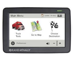 Truck Route Maps Amazon Com Rand Mcnally Tnd530 Truck Gps With Lifetime Maps And