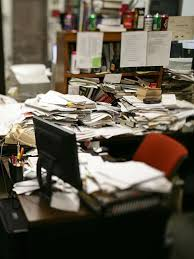Einstein Cluttered Desk Messy Desks In The Office Can Actually Lead Employees To Think
