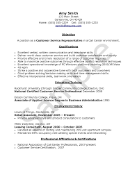 Best Resume Certifications by The Most Stylish Call Center Resume Examples Resume Format Web