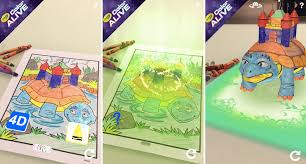 crayola u0027s new colouring books bring your creations to life with an