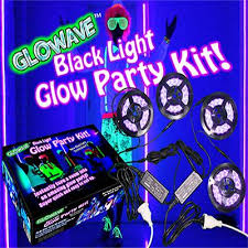 glow party ideas black light led glow party kits uv ultra violet lights neon party