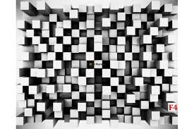 murals 3d abstract geometric cubes in black wall murals 3d abstract geometric cubes in black