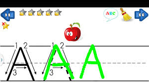 learn write letters abc 123 android apps on google play