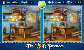 Andriod Games Room - find 5 differences free download for android android games room