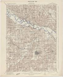 Iowa City Map Iowa Historical Topographic Maps Perry Castañeda Map Collection