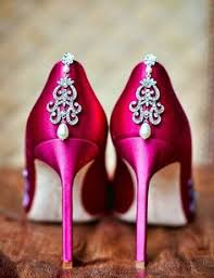 wedding shoes pink show your pink shoes