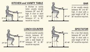 kitchen island stool height what bar stool heights to use for various situations with kitchen