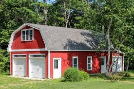 gambrel garage patriot gambrel style 1 story garage the barn yard u0026 great