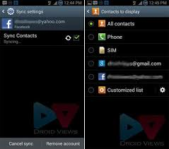 contact sync android how to remove contacts from android contacts phonebook