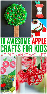 10 awesome apple crafts for kids pick any two