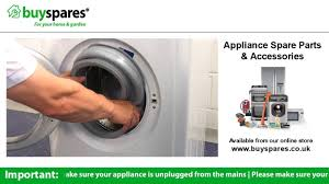 how to replace a door seal on an indesit washing machine youtube