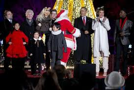 obama lights the national christmas tree the atlantic