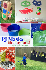pj masks party ideas pj mask mask party masking