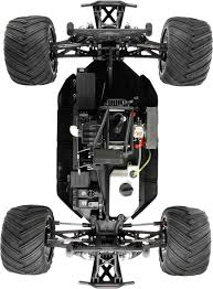 monster jam 1 24 scale trucks losi monster truck xl rtr avc 1 5 4wd black losi los05009t1