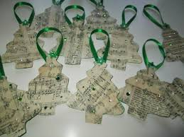 Homemade Christmas Tree Ornaments by Roommom27 Handmade Music Themed Christmas Tree Ornaments