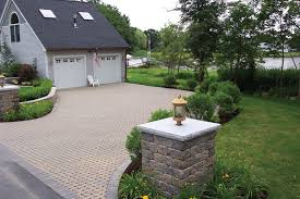 Backyard Pavers Cost by New England Concrete Pavers Eco Conscious Driveway And Sidewalk