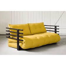 matelas futon canapé canapé convertible au meilleur prix canapé convertible noir funk