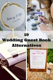 alternative guest book wedding guest book alternatives 19 wedding guest book alternatives
