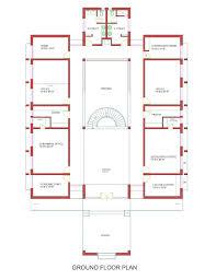 siheyuan floor plan market committee office jaitu punjab