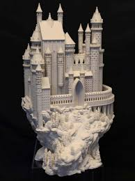 bold machines designs releases amazing 3d printed castle