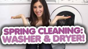how to clean your washing machine u0026 dryer spring cleaning