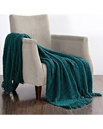incredible winter deals on boon fluffy knitted woven throw couch