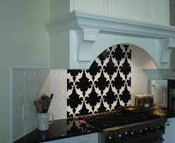 White Backsplash Tile For Kitchen Tumbled Marble Subway Tile Kitchen Traditional With Beam Cornice