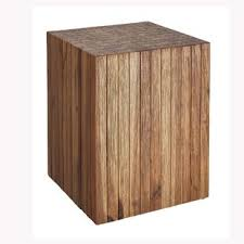 tree stump accent table modern contemporary wood stump side table allmodern