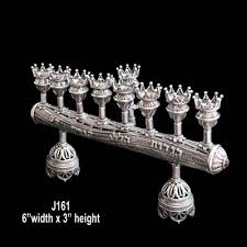 shabbat menorah sterling silver menorahs judaica kingdom llc