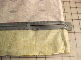 How To Make A Cushion With Zip How To Sew Piping Into A Pillow For A Professional Finish