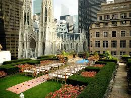 Rockefeller Center Summer Garden - party outdoors front u0026 center at rockefeller center