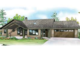 diverting ranch house plan elk lake front elevation story house