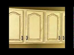 How To Distress White Kitchen Cabinets How To Antique White Kitchen Cabinets Youtube