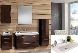 badezimmer komplett set badezimmer hochschrank schwarz hochglanz ideen für die