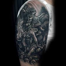 religious sleeve tattoos for men pictures to pin on pinterest