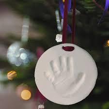 babyprints handprint or footprint ornament meyer babies