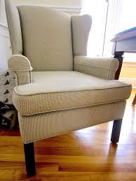Reupholster Armchair Diy Diy Wing Back Chair Reupholster Hometalk