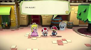 paper mario color splash worried goomba stomp