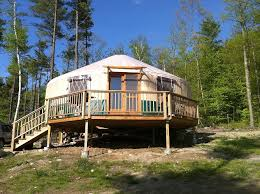 Living In A Yurt by Want To Sleep In A Yurt On Your Next Upstate Ny Vacation Try