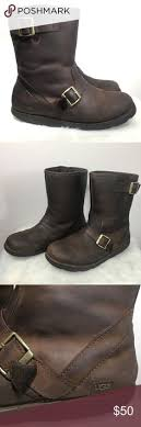 s ugg australia leather boots hawthorne chukka boots in currant from shoes fall