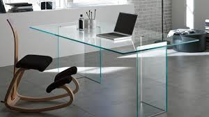 Modern Glass Desk With Drawers Refract Glass Desk With Drawers Dwell 22 Best Desks For The Home