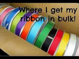 ribbon bulk where i buy my ribbon in bulk