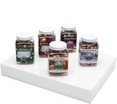 How To Set A Table Taste Of Home by Germack Set Of 5 Holiday Mini Jar Assortment Page 1 U2014 Qvc Com