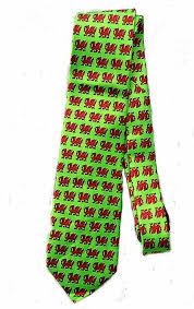 cymru wales welsh dragon tie st david u0027s day amazon co uk clothing
