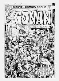 Windsor Smith Kitchen Savage Tales Conan Saga 8