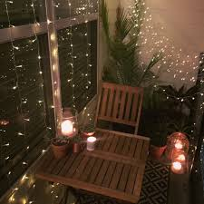 net christmas lights for small bushes small balcony decor ideas for an apartment hanging string lights