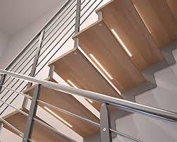 Illuminated Handrail Illuminate Creativity Led Stairs Ikona Scale